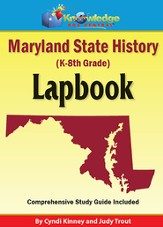 Maryland State History Lapbook (Printed Edition)