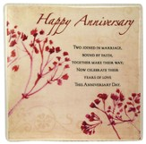 Happy Anniversary Ceramic Tile