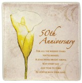50th Anniversary Ceramic Tile