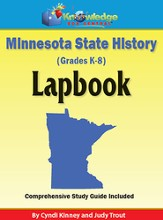 Minnesota State History Lapbook (Printed Edition)