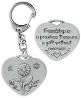 Friendship is a Priceless Treasure Keyring