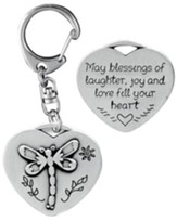 Blessings of Laughter Keyring