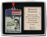 In Loving Memory Patriotic Ornament