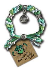 Love, Loyalty, Friendship Claddagh, Express Yourself Cord Bracelet