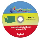 Washington State History Lapbook PDF CDROM
