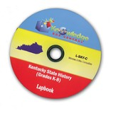 Kentucky State History Lapbook PDF CD-ROM