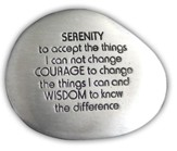 Serenity Prayer Pocket Stone
