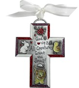 God Loves All Creatures Kid's Cross