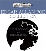 Edgar Allan Poe Collection: The Black Cat, The Gold Bug Unabridged Audiobook on CD