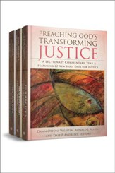 Preaching God's Transforming Justice, Three-Volume Set: A Lectionary Commentary