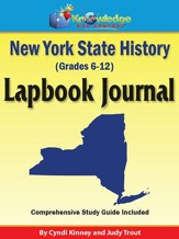 New York State History Lapbook Journal (Printed)