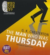 The Man Who Was Thursday Unabridged Audiobook on CD
