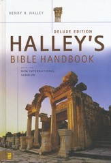Halley's Bible Handbook with the New International   Version, Deluxe Edition