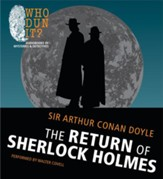 The Return of Sherlock Holmes Unabridged Audiobook on CD