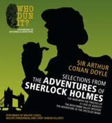 Selections from The Adventures of Sherlock Holmes: The Man with the Twisted Lip, A Case of Identity, The Boscobe Valley Mystery, The Adventure of the Speckled Band Unabridged Audiobook on CD