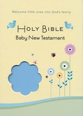 CEB Common English Bible New Testament Baby Edition SoftTouch Blue - Slightly Imperfect