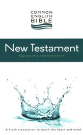 CEB Common English Bible New Testament Softcover