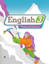 BJU English Grade 3 Student Worktext, Second Edition   (Student Copryright Update)
