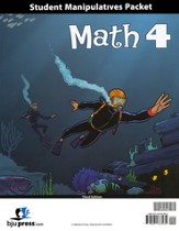 BJU Math Grade 4 Student Materials Pack (Third Edition)