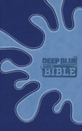 CEB Deep Blue Kids Bible, Soft leather-look, Midnight Splash