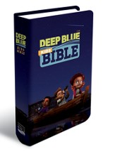 CEB Deep Blue Kids Bible, ImageFlex  - Slightly Imperfect