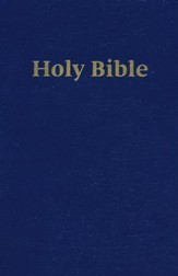 ERV Holy Bible Large Print Easy-to-Read Version Blue Softcover