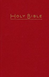 CEB Pew Bible Dark Red