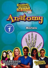 Standard Deviants School, Anatomy Program 1: Bones, DVD