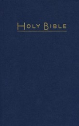 CEB Pew Bible Navy