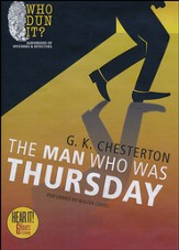 The Man Who Was Thursday Unabridged Audiobook on MP3-CD