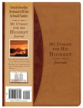 My Utmost for His Highest Daily Devotional Journal
