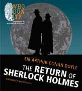 The Return of Sherlock Holmes Unabridged Audiobook on MP3-CD