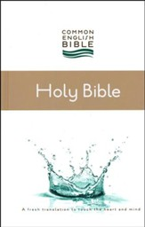 CEB Thinline Bible, Hardcover