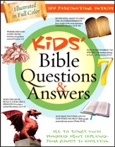 Kids' Bible Questions & Answers: All the Things You've Wondered About Explained--from Genesis to Revelation