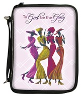 To God Be the Glory Bible Organizer Cover