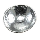 Faith, Jewelry Dish, Silver