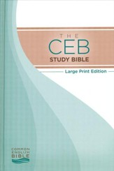 CEB Study Bible, Large Print edition