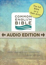 CEB Common English Audio Bible on Flashdrive