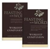 Feasting on the Word Worship Companion, Year A - Two-Volume Set: Liturgies for Year A