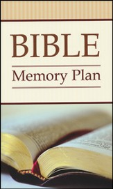 Bible Memory Plan: 52 Verses You Should -and CAN-Know - Slightly Imperfect