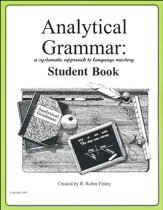 Analytical Grammar Workbook Student Book