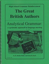 Analytical Grammar: High School Grammar Reinforcement - British Authors