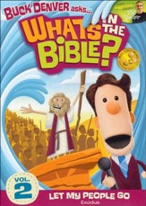 What's in the Bible? #2: Let My People Go! DVD
