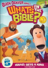 What's in the Bible? #5: Israel Gets a King! DVD
