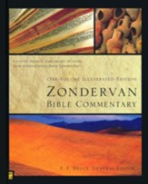 Zondervan Bible Commentary, One-Volume Illustrated Edition - Slightly Imperfect