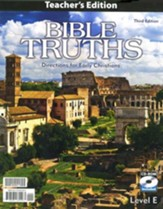 BJU Bible Truths Level E Teacher's Edition with CD-ROM (Grade 11) Third Edition