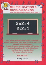 Multilplication and Division Songs DVD