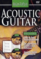 Begin to Play: Acoustic Guitar, DVD