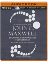 Everyone Communicates, Few Connect Abridged MP3-CD