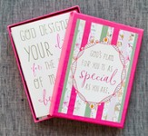 Faith Floral Notes, Psalm 118:24, Box of 12